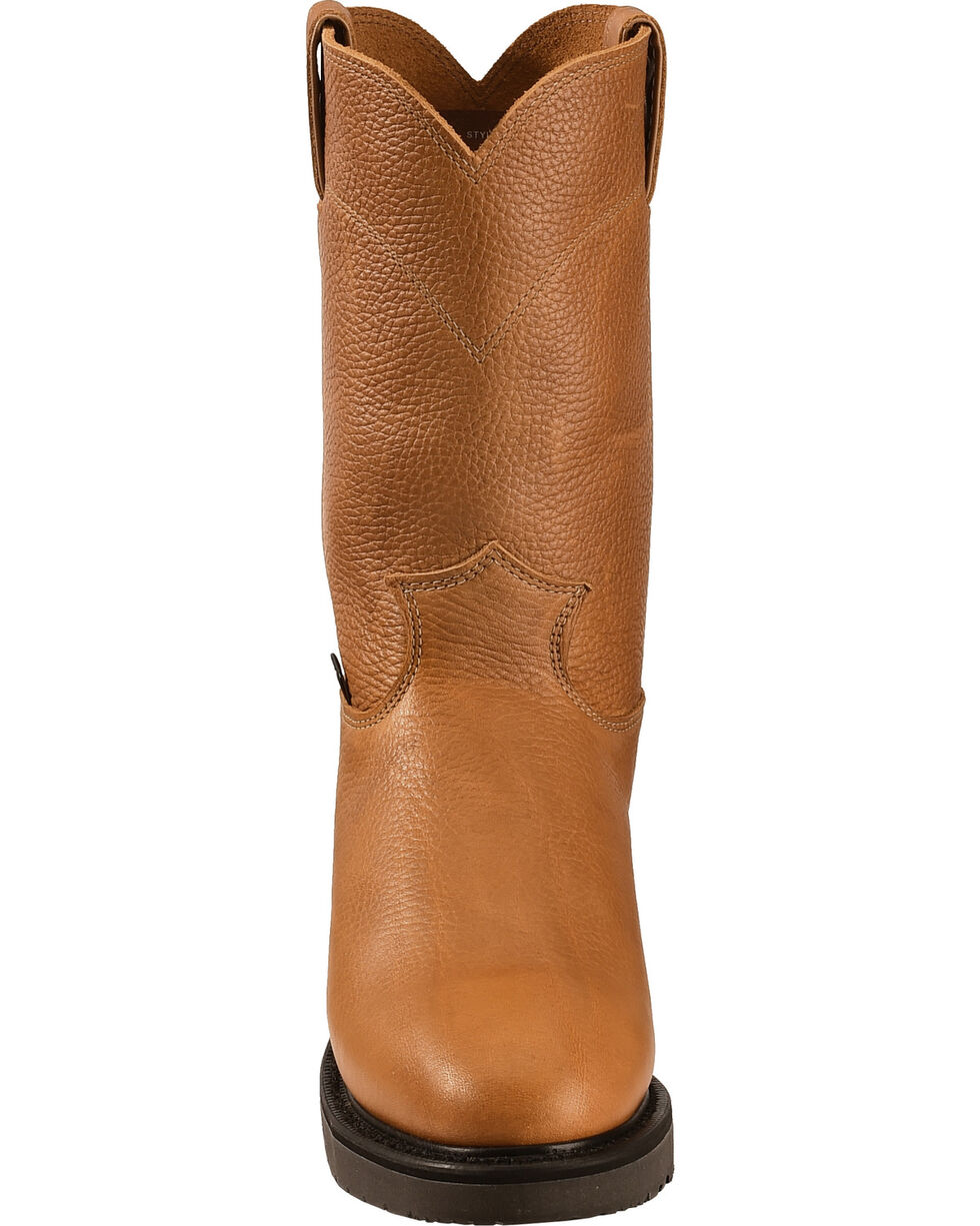 Justin Men's Work Boots, Copper, hi-res