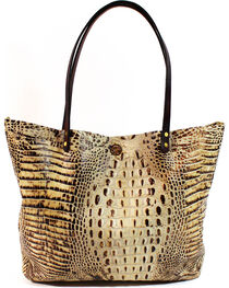 SouthLife Supply Women's Cream Croc Square Tote, , hi-res