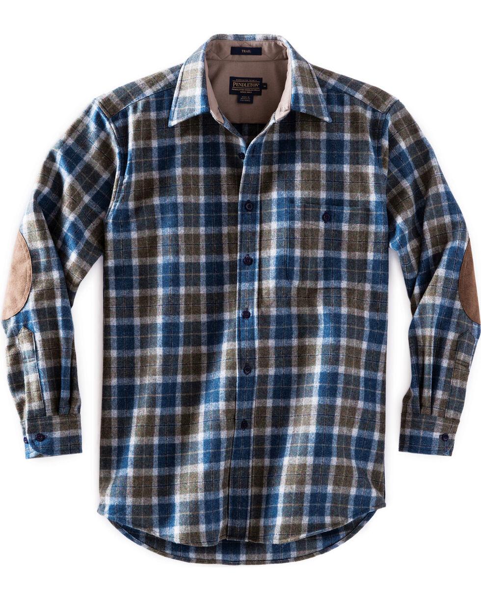 Pendleton Men's Taupe Trail Shirt , Taupe, hi-res