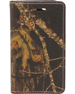 Nocona Mossy Oak Camo Leather iPhone 5 and 5S Case Wallet, Mossy Oak, hi-res