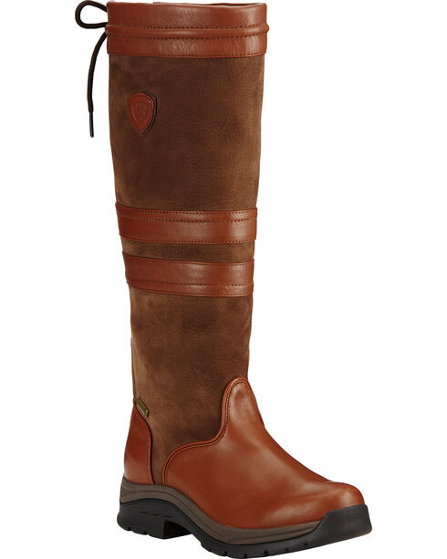 Ariat Women's Braemar GTX English Boots, Brown, hi-res