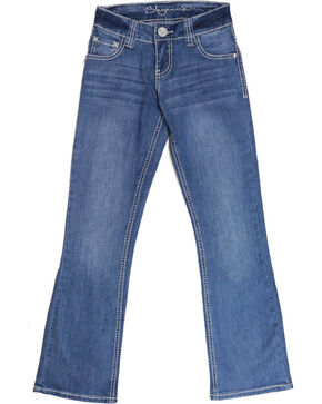 Shyanne Girl's Boot Cut Jeans, , hi-res
