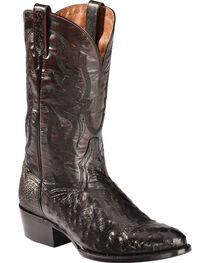 Dan Post Men's Quilled Ostrich Western Boots, , hi-res