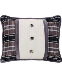 HiEnd Accents Whistler Buttoned Accent Pillow, , hi-res