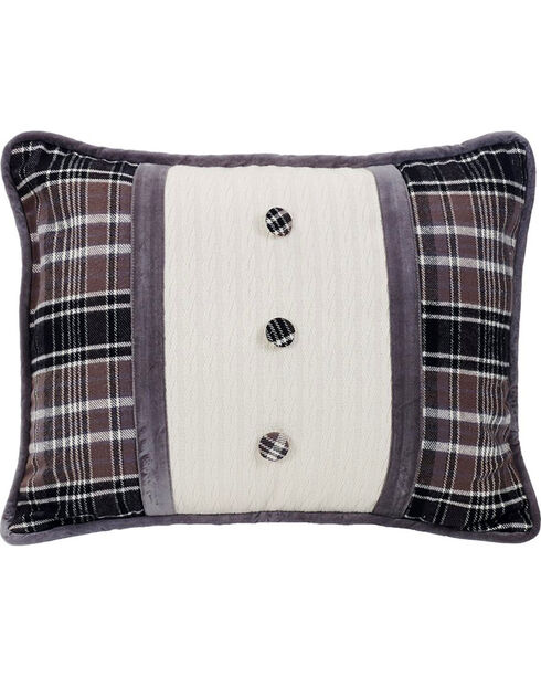 HiEnd Accents Whistler Buttoned Accent Pillow, Multi, hi-res