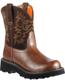 Ariat Women's Fatbaby Western Boots, , hi-res