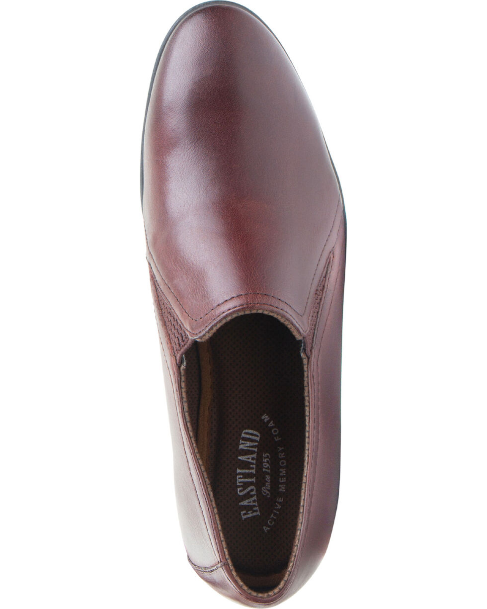 Eastland Women's Brown Carly Slip-On Loafers , Brown, hi-res