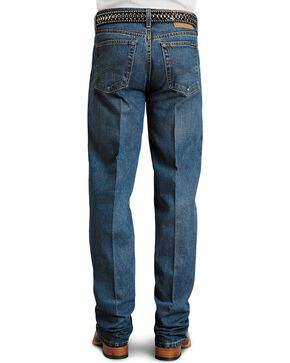 Stetson Men's Premium Standard Fit Boot Cut Jeans, Stonewash, hi-res