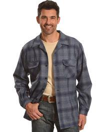Pendleton Men's Grey Plaid Boardshirt, , hi-res