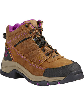 Ariat Women's Buck Terrain Pro Outdoor Boots, Rust, hi-res
