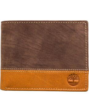 Timberland Men's Hunter Commuter Bifold Wallet, Tan, hi-res