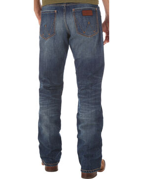 Wrangler Retro Men's Relaxed Fit Dark Wash Boot Cut Jeans - Big and Tall, Indigo, hi-res