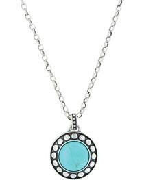 Montana Silversmiths Women's Beaded Button Attitude Nacklace, , hi-res