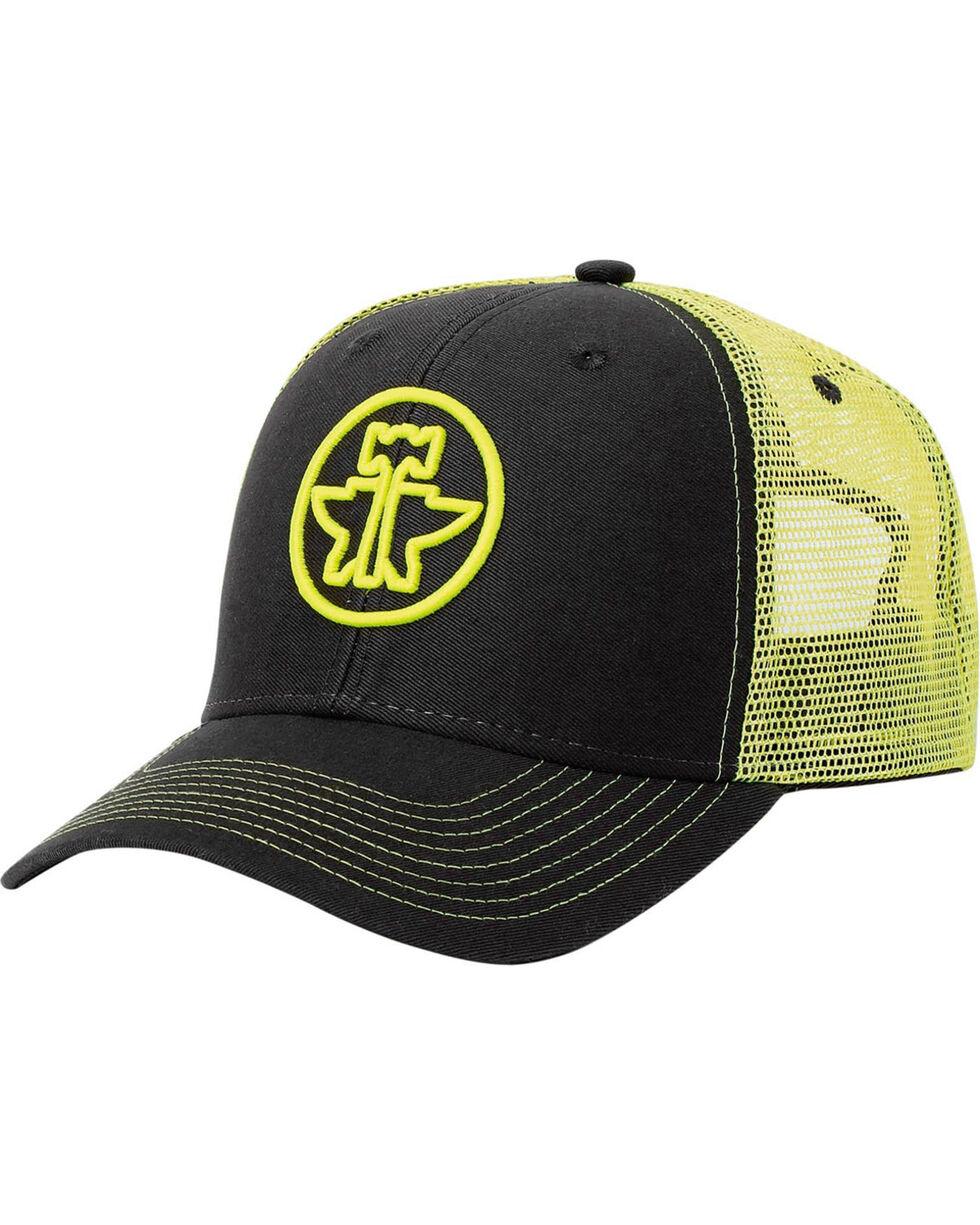 Tin Haul Men's Yellow 3D Anvil and Hammer Trucker Cap , Yellow, hi-res