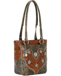 American West Women's Desert Wildflower Tote Bag, , hi-res