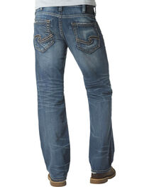 Silver Jeans Men's Zac Relaxed Fit Straight Leg Jeans , , hi-res