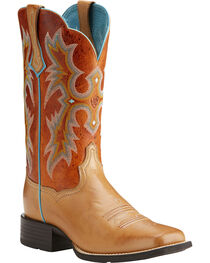 Ariat Women's Tombstone Tack Room Cowgirl Boots - Square Toe, , hi-res