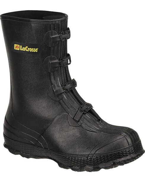 LaCrosse Men's Z-Series Overshoes Rubber Boots, Black, hi-res