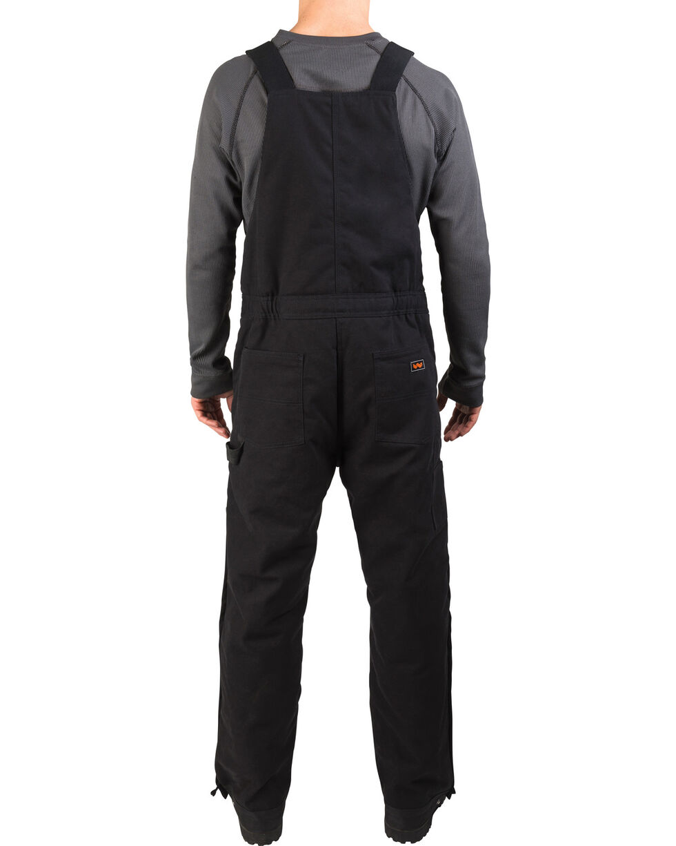 Walls Frost Blizzard Pruf Insulated Bib Overalls - Big and Tall, Black, hi-res