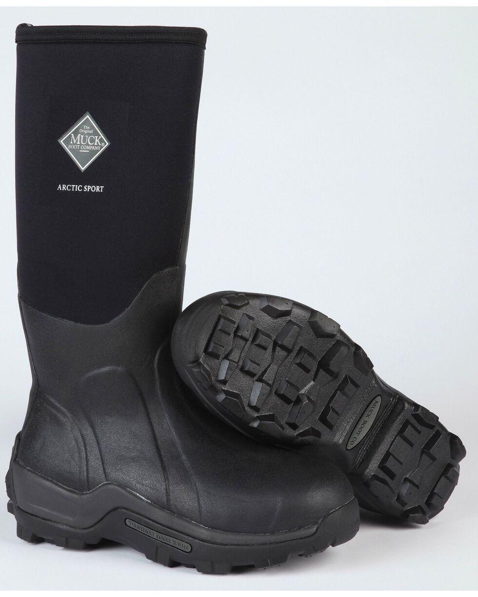 The Original Muck Boot Co. Arctic Sport Outdoor Boots, Black, hi-res