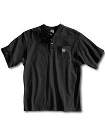 Carhartt Short Sleeve Henley Work Shirt, , hi-res