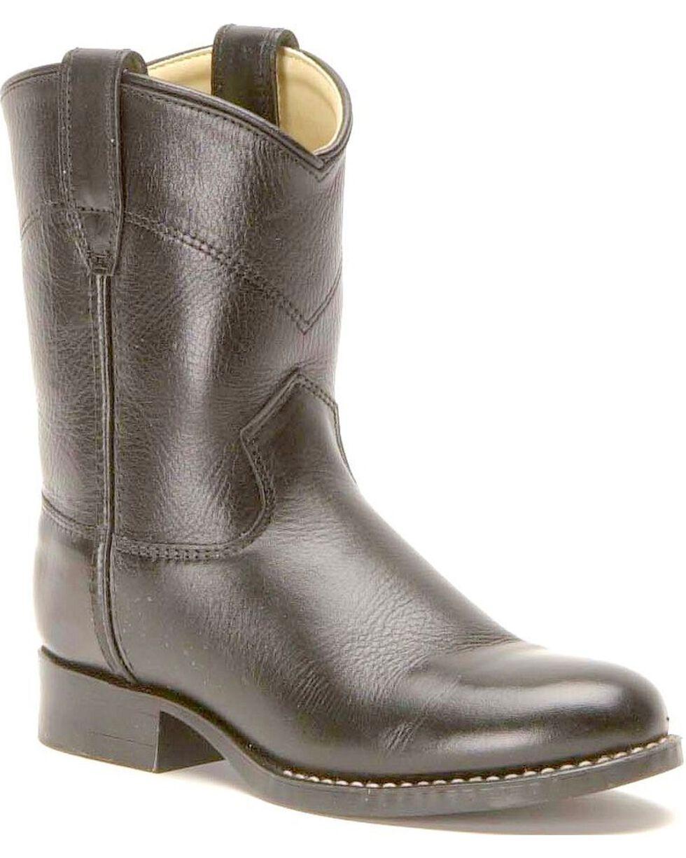 Children's Roper Cowboy Boots, Black, hi-res