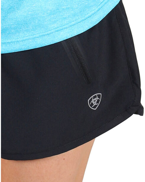AriatTek Women's Mesa Active Shorts, Black, hi-res