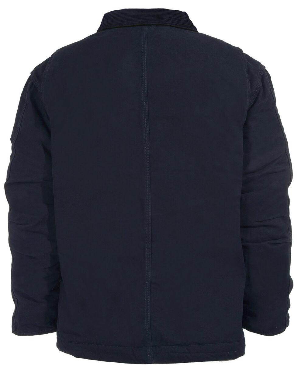 Berne Original Washed Chore Coat - 5XL and 6XL, Midnight, hi-res