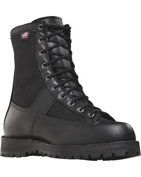 "Danner Unisex Acadia 10"" Uniform Boots, Black, hi-res"