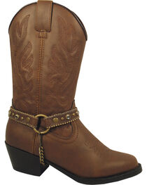 Smoky Mountain Youth Girls' Charleston Western Boots - Round Toe, , hi-res