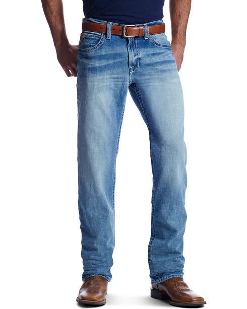 Ariat Men's M3 Mason Wayfarer Straight Leg Jeans, Light Blue, hi-res
