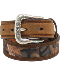 Ariat Boys Camo Canvas Belt, , hi-res