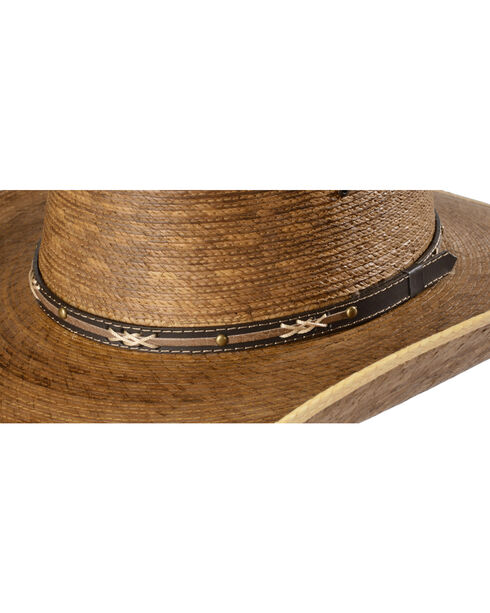 Jason Aldean Passing Through Palm Leaf Cowboy Hat, Natural, hi-res
