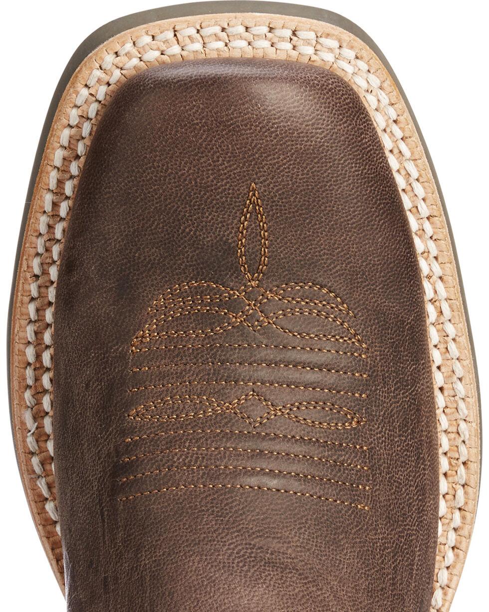 Ariat Women's Brown Futurity Buckaroo Western Boots - Square Toe , Brown, hi-res
