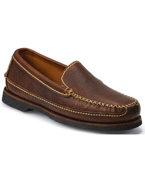 Chippewa Men's Rugged Casual Slip-On Loafers, Brown, hi-res