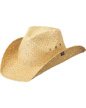 Peter Grimm Youth Natural Drifter Jr. Cowboy Hat , Natural, hi-res