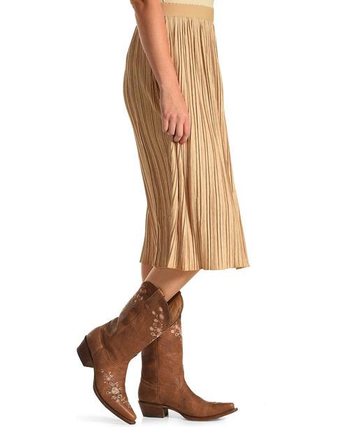 Black Swan Women's Midi Length Skirt, Tan, hi-res
