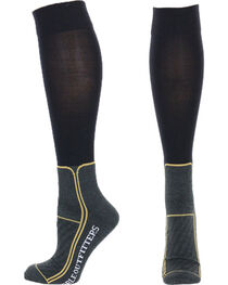 Noble Outfitters Men's Over the Calf TermoThin Boot Socks, , hi-res