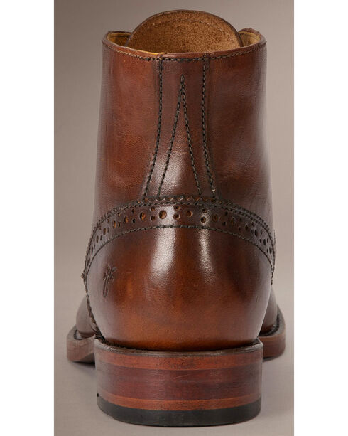 Frye Men's Arkansas Wingtip Boots, Cognac, hi-res