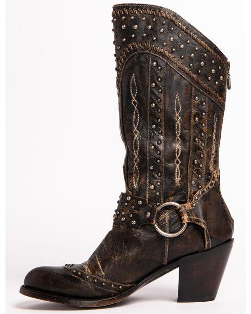 Dan Post Women's Sexy Back Western Boots, Black, hi-res