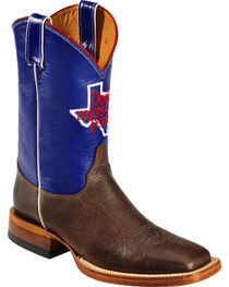 Justin Men's Don't Mess With Texas Western Boots, , hi-res