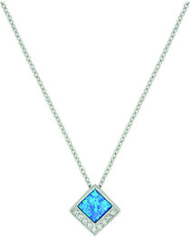 Montana Silversmiths Women's River of Light Infinity Pool Necklace, , hi-res