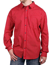 Cody James Core Men's Checkered Long Sleeve Shirt, , hi-res