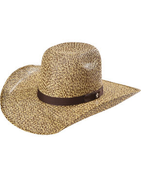 Hooey by Resistol Men's Del Rio K Straw Hat , Brown, hi-res
