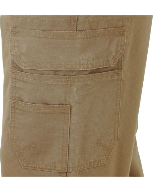 Wrangler Men's Vantage Ripstop Cargo Pants, Brown, hi-res