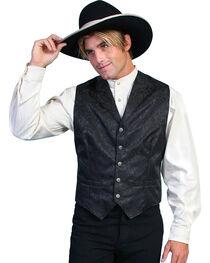 Wahmaker Silk Floral Single Breasted Vest - Big & Tall, , hi-res