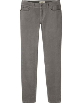 Mountain Khakis Women's Canyon Cord Slim Fit Skinny Pants - Petite, Dark Grey, hi-res