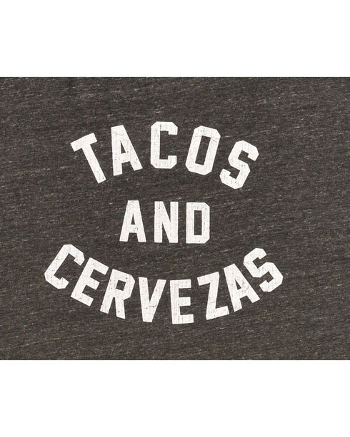 Original Retro Brand Men's Tacos and Cervezas Tee, Black, hi-res