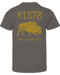 Browning Boys' Buffalo Firearms Tee, , hi-res