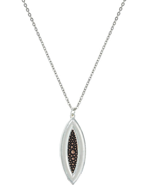 Montana Silversmiths River Pebbles at Sunset Necklace, Multi, hi-res